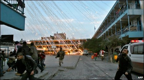 Rights groups say images from the conflict prove the use of phosphorus