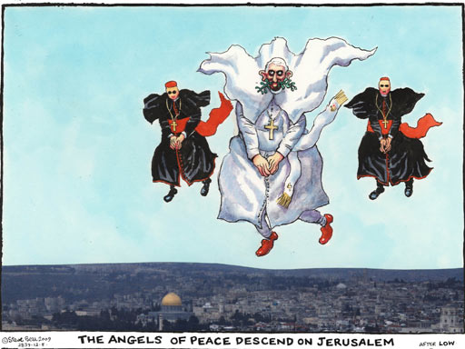 Steve Bell, The Guardian, May 12, 2009